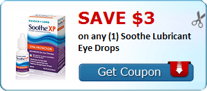 Save $3 on any (1) Soothe Lubricant Eye Drops