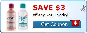 Save $3.00 off any 6 oz. Caladryl