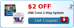 $2.00 off ONE Crest 2-Step System