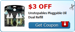 $3.00 off Unstopables Pluggable Oil Dual Refill