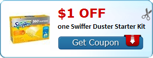 $1.00 off one Swiffer Duster Starter Kit