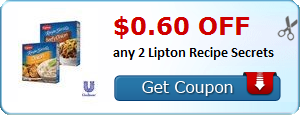 $0.60 off any 2 Lipton Recipe Secrets