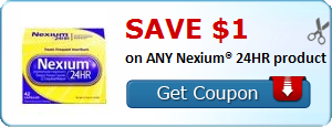 SAVE $1.00 on ANY Nexium� 24HR product