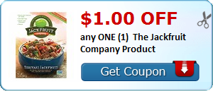 $1.00 OFF any ONE (1) The Jackfruit Company Product