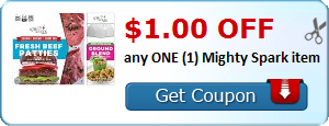 $1.00 OFF any ONE (1) Mighty Spark item