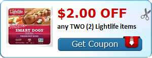 $2.00 OFF any TWO (2) Lightlife items