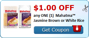 $1.00 OFF any ONE (1)  Mahatma™ Jasmine Brown or White Rice