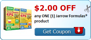 $2.00 OFF any ONE (1) Jarrow Formulas® product