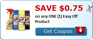 Save $0.75 on any ONE (1) Easy Off Product